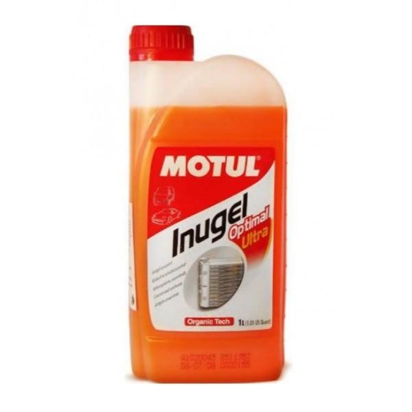 Motul Inugel Optimal Ultra - Концентрат антифриза (оранжевый) (1л)