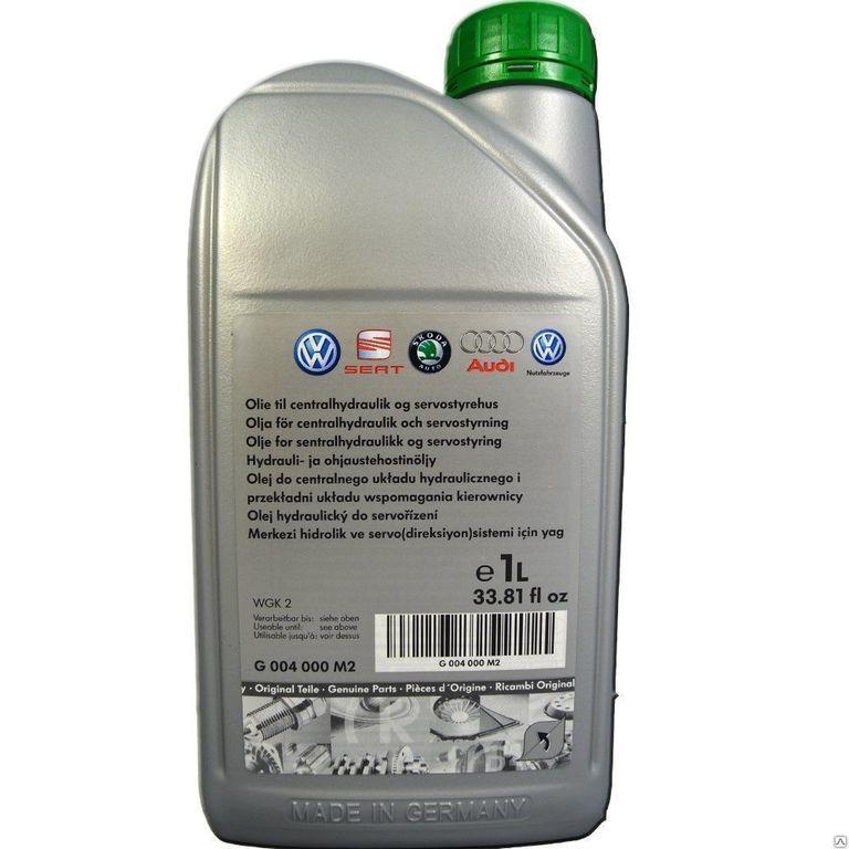 VAG Power Steering (1л) - Синтетическая жидкость для гидроусилителя