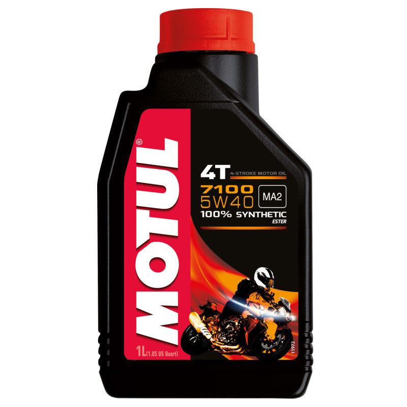 Motul 7100 4T 5W40 Синтетическое мотоциклетное масло