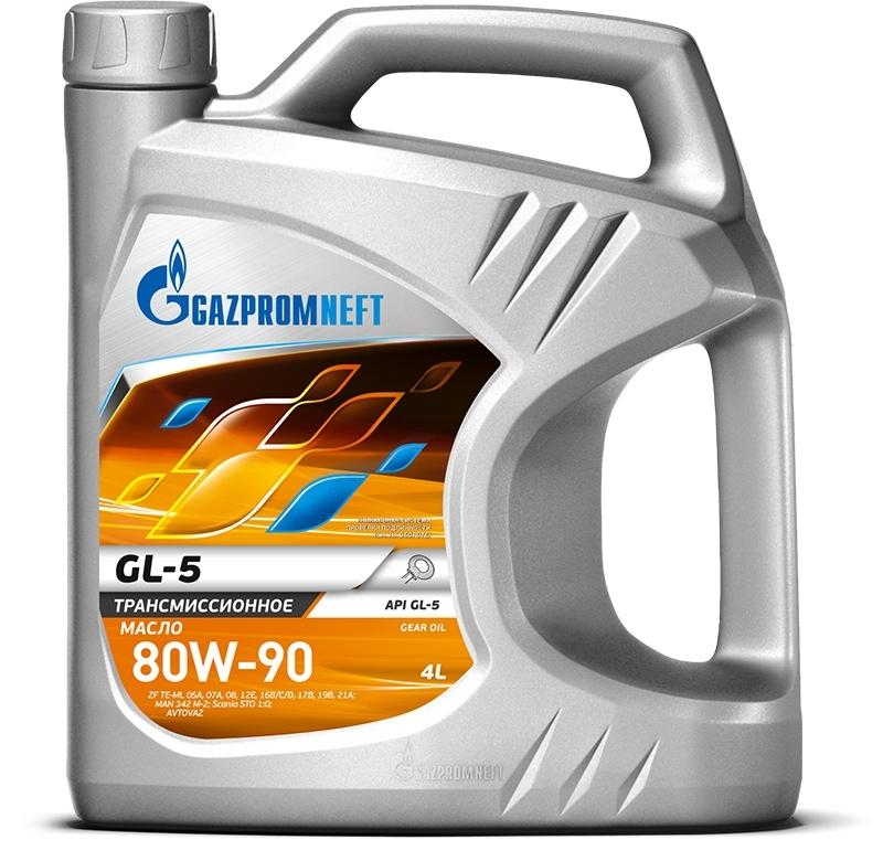 Gazpromneft GL-5 80W90 Трансмиссионное масло для МКПП