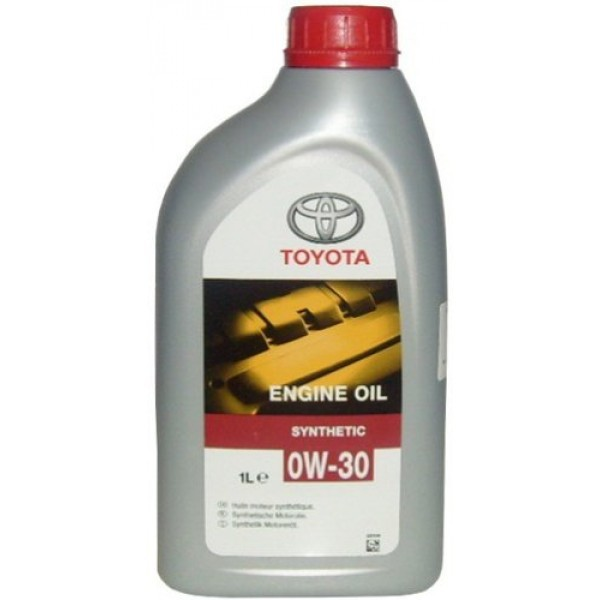Toyota Engine Oil 0W30 Синтетическое моторное масло