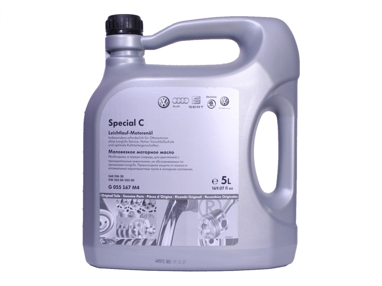 VAG Special C 0W30 Синтетическое моторное масло (G R55167M4)