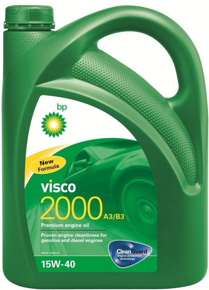 BP Visco 2000 15W40 Моторное минеральное масло