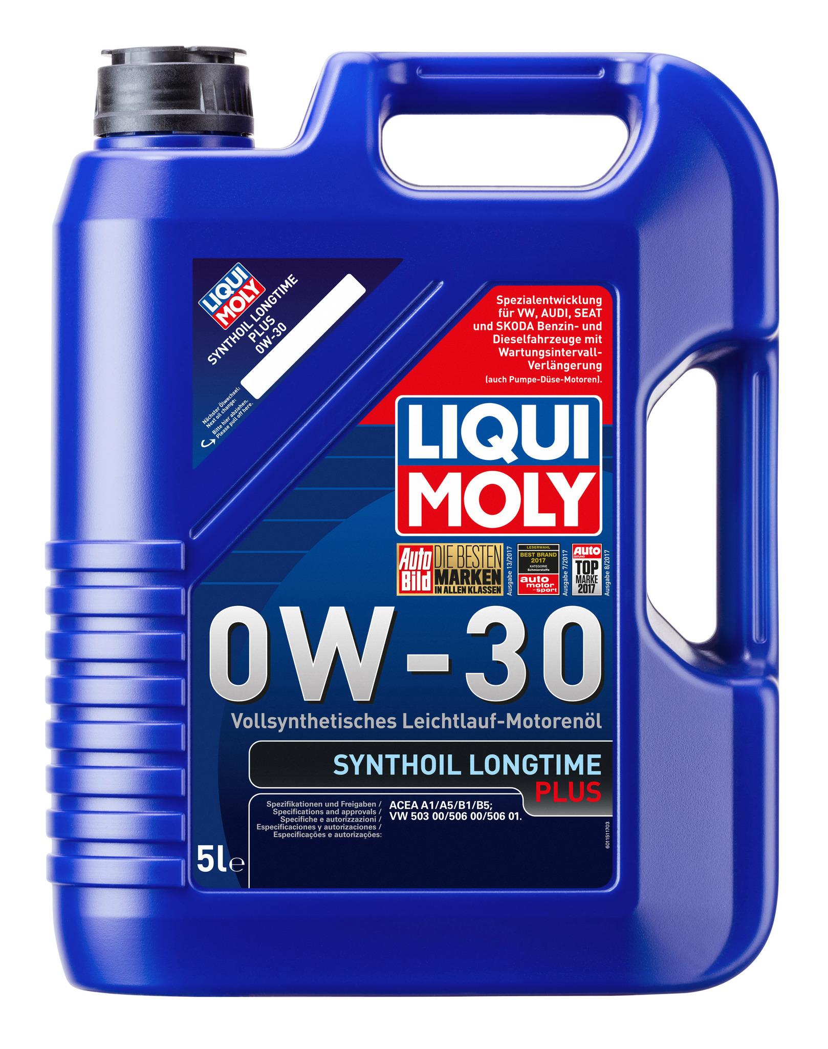 Liqui Moly Synthoil Longtime Plus 0W30 Синтетическое моторное масло (1151)