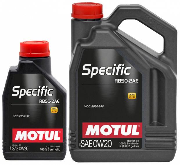 Motul Specific RBS0-2AE 0W20 Синтетическое моторное масло