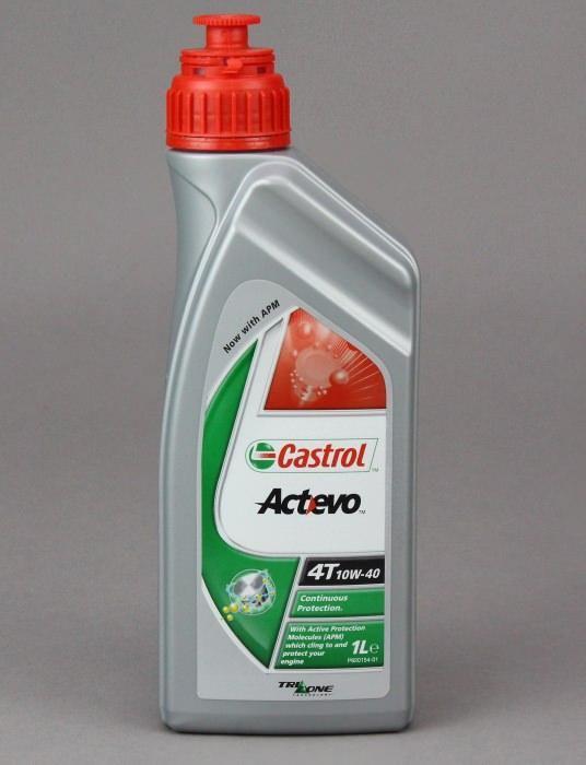 Castrol ActEvo 10W-40 4T - Минеральное моторное масло для 4-х тактной мототехники