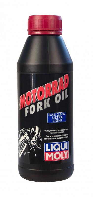 Liqui Moly Motorrad Fork Oil 2,5W Ultra Liqht Синтетическое масло для вилок и амортизаторов