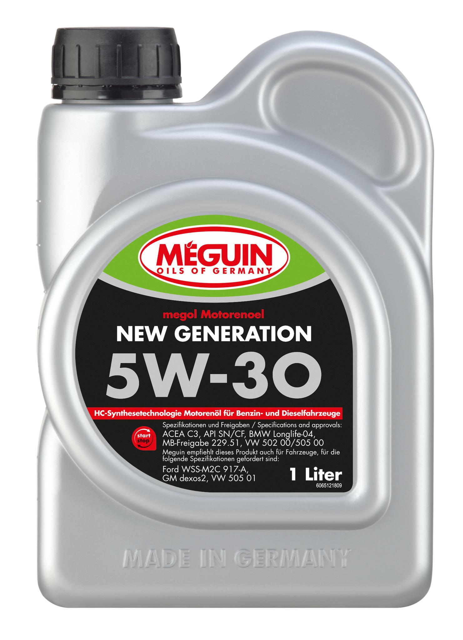 Megol Motorenoel New Generation 5W30 Синтетическое моторное масло