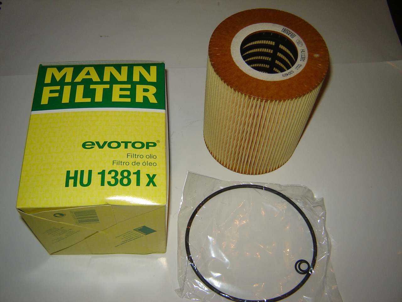 Фильтр масляный MANN HU 1381X