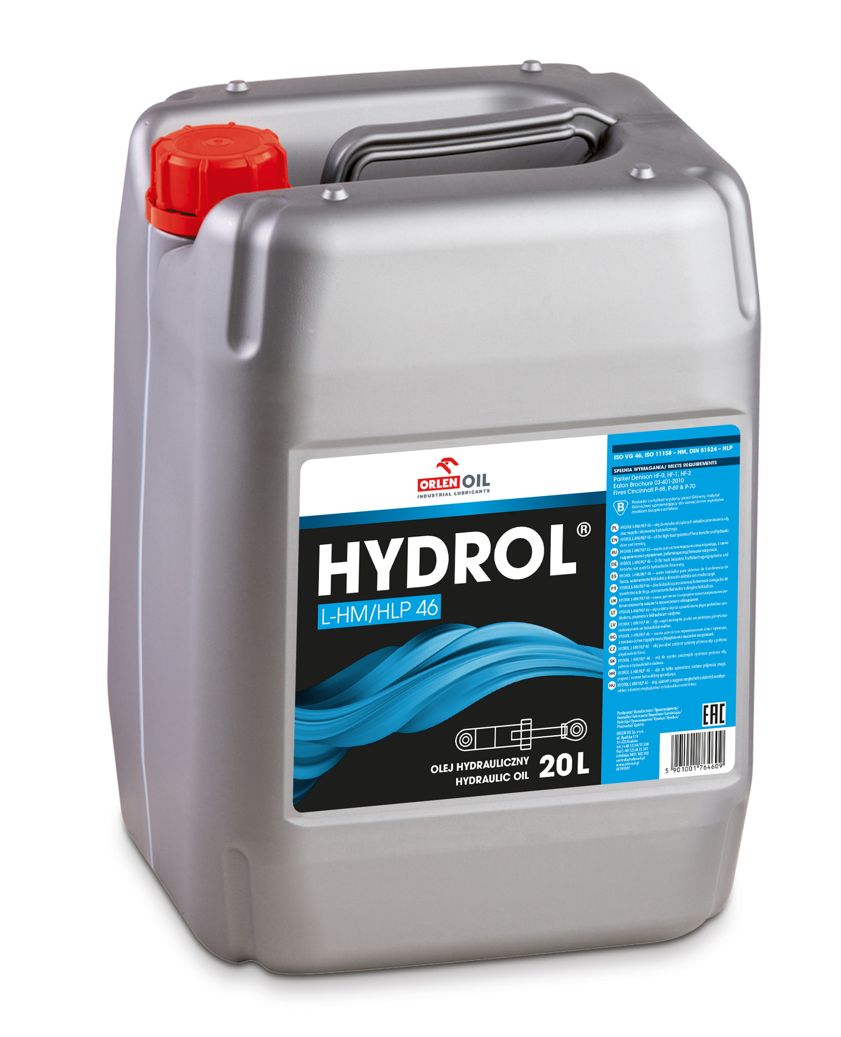 Orlen Oil Hydrol L-HM/HLP 46 Гидравлическое масло