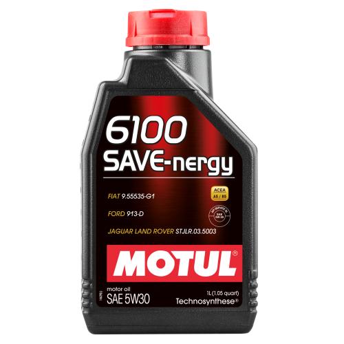 Motul 6100 Save Nergy 5W30 Синтетическое моторное масло