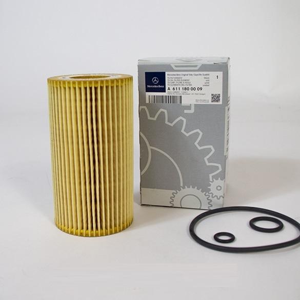 Фильтр масляный MERCEDES-BENZ A611 180 00 09 MB OM611/612