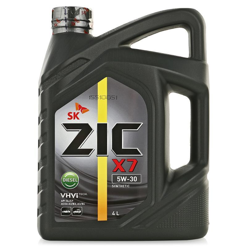 ZIC X7 Diesel 5W30 Синтетическое моторное масло для дизельных двигателей