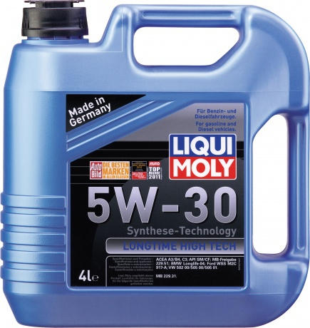 Liqui Moly Longtime High Tech 5W-30 НС-синтетическое моторное масло 4.000