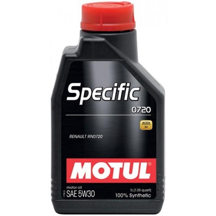 MOTUL Specific 0720 5W30 - 100% синтетическое для дизеля Renault