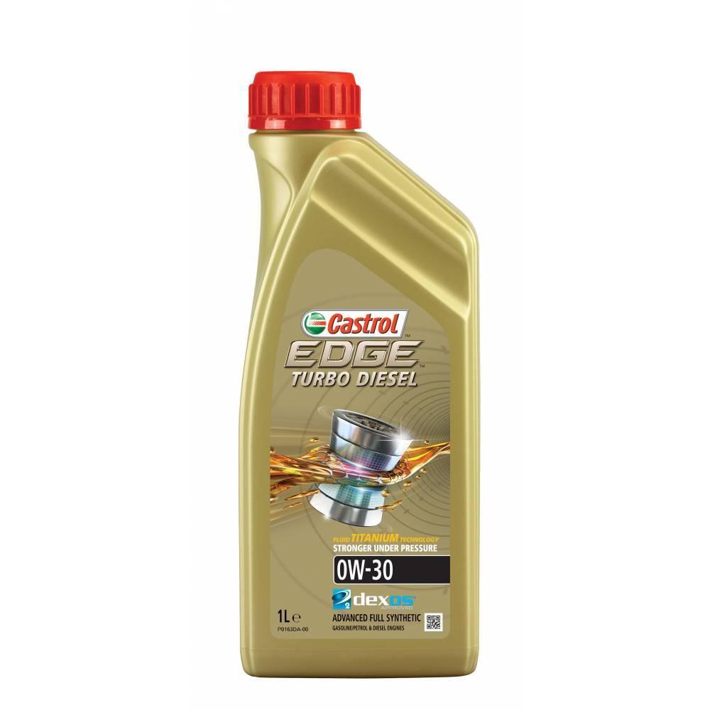 Castrol EDGE Turbo Diesel 0W30 SN/CF Синтетическое моторное масло