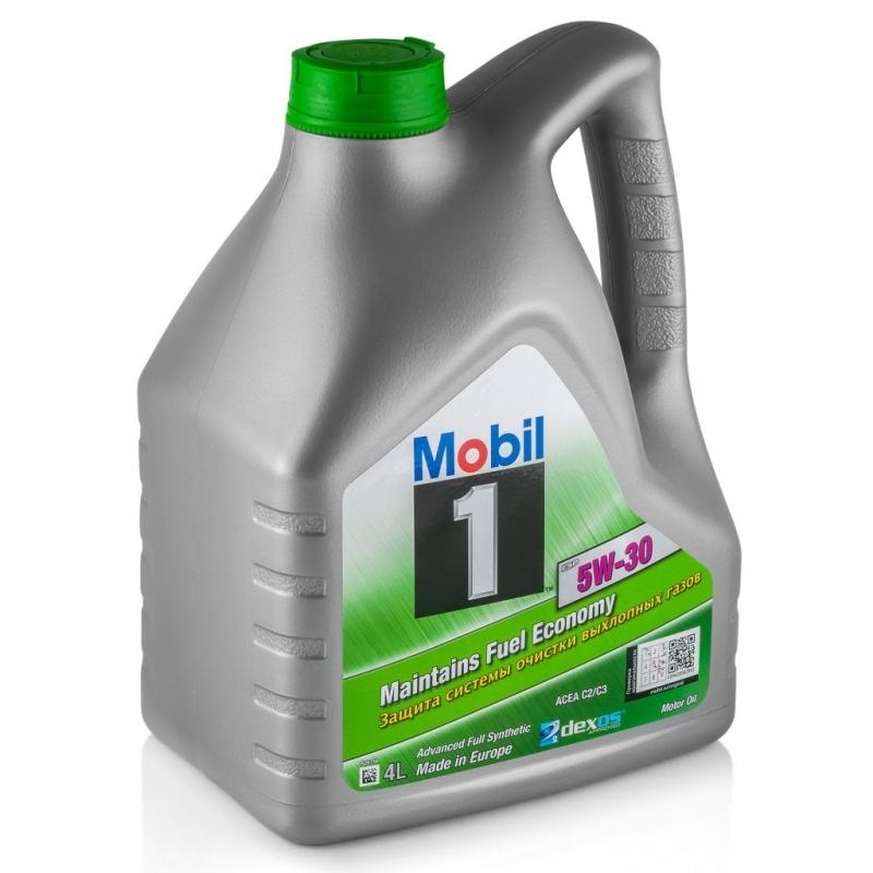 Mobil 1 ESP Formula 5W30 - 100% Синтетическое моторное масло (4л) Для дизелей с DPF