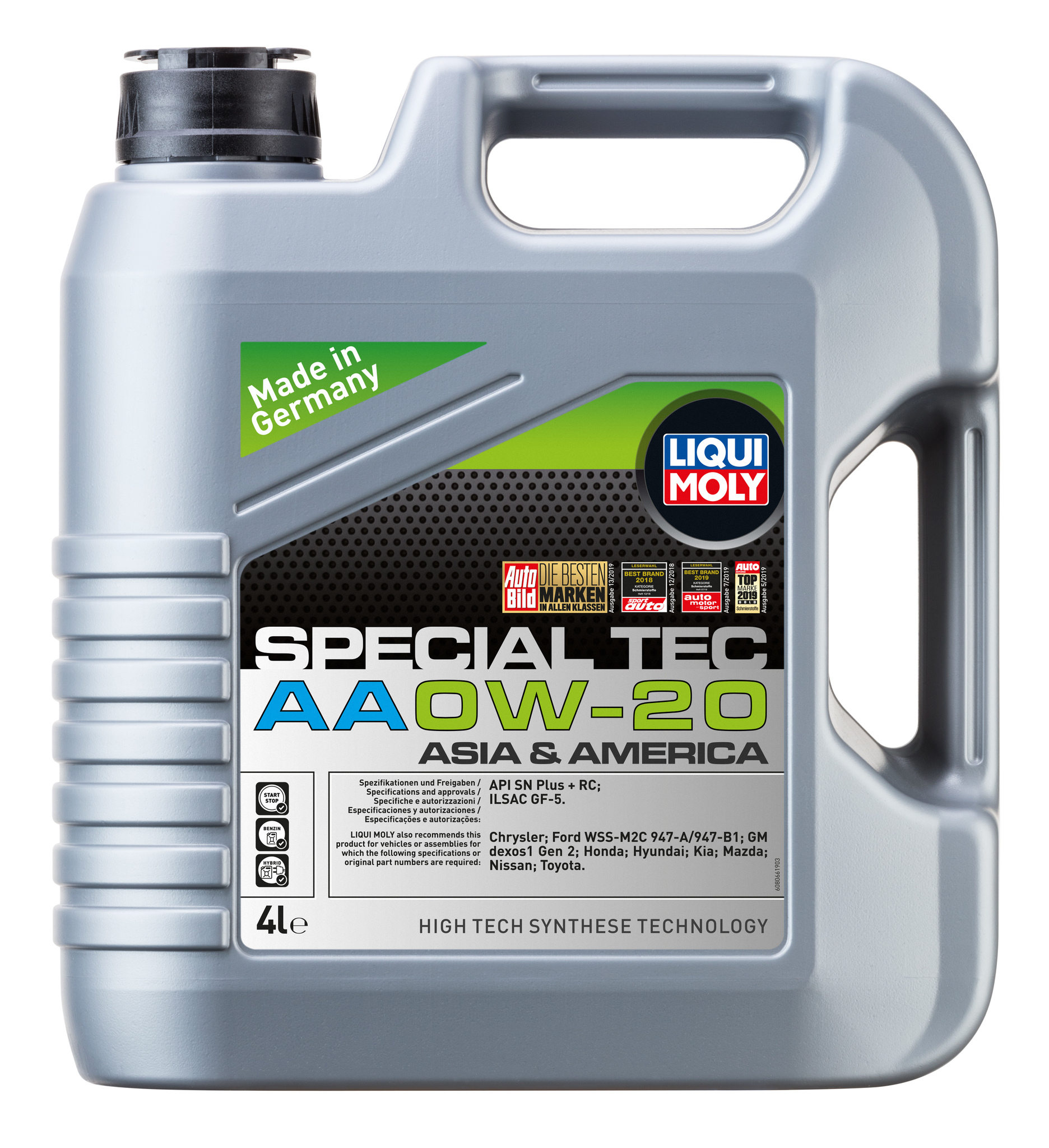 Liqui Moly Special Tec AA 0W20 НС-синтетическое моторное масло