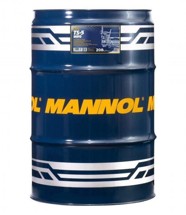 Mannol TS-5 UHPD 10W40 Полусинтетическое моторное масло для грузовых автомобилей (бочка 208л)