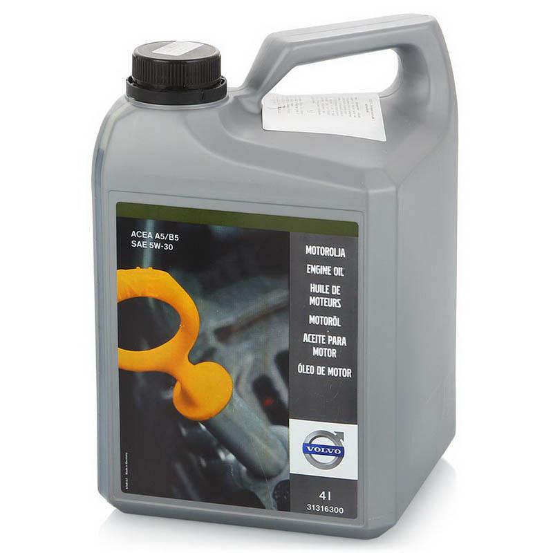 Volvo Motoroel 5W-30 A5/B5-Синтетическое моторное масло