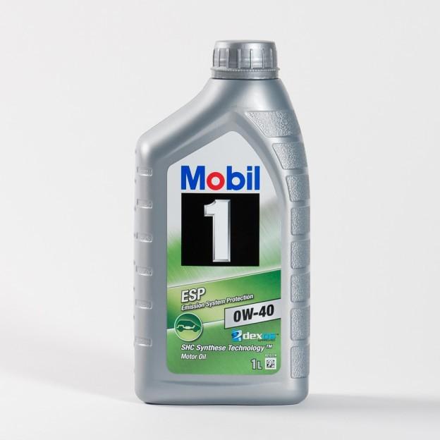 Mobil 1 ESP 0W40 Dexos 2 синтетическое моторное масло