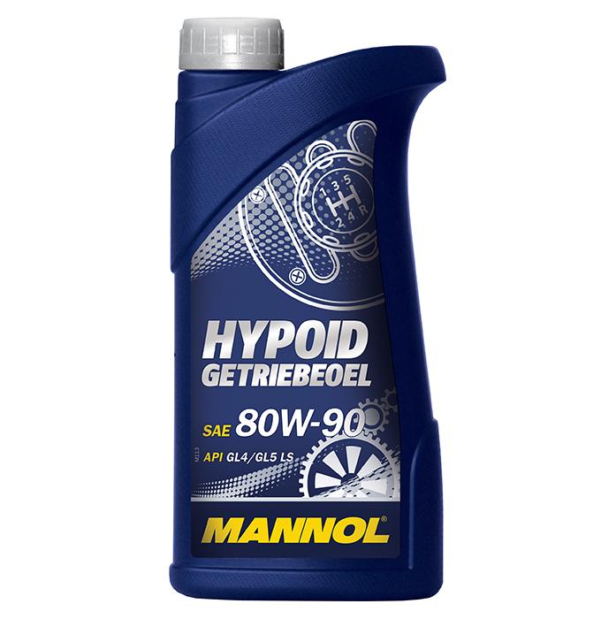 Mannol Hypoid 80W-90 GL-5 - Трансмиссионное масло для МКПП