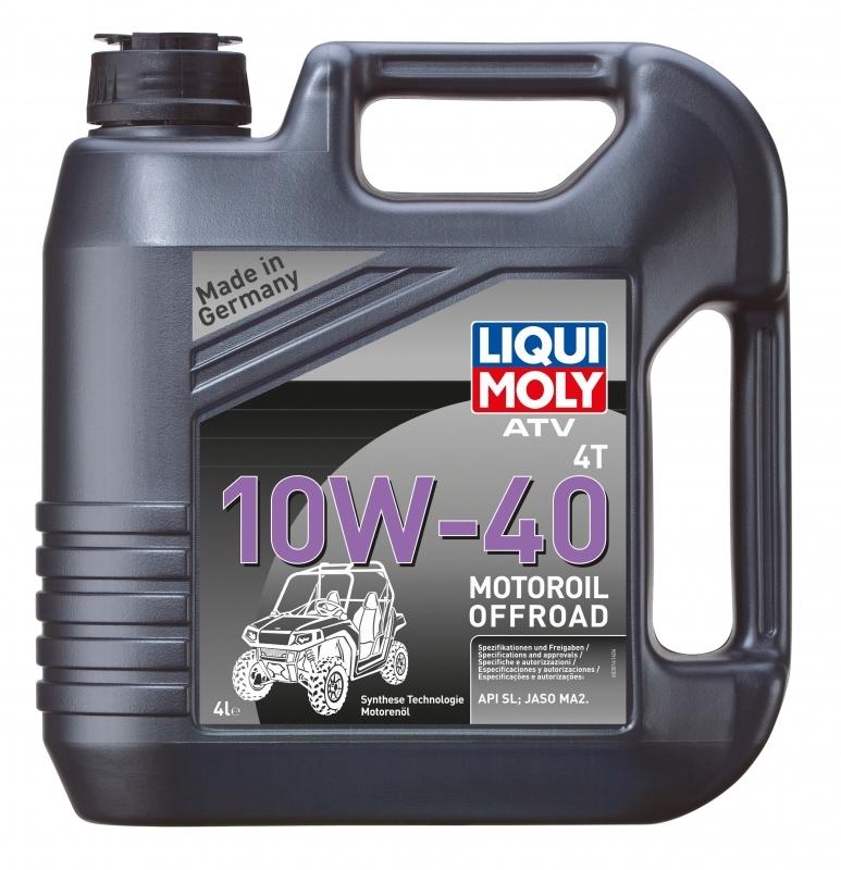 Liqui Moly ATV 4T Motoroil Offroad 10W40 Синтетическое моторное масло для квадроциклов