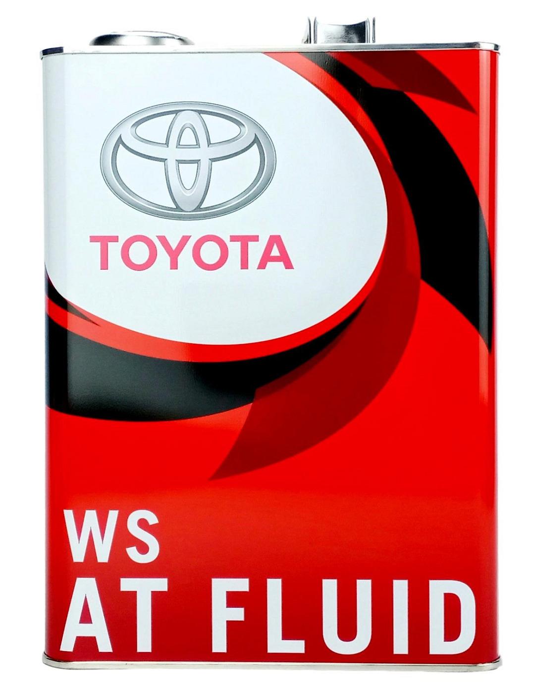 Toyota Auto Fluid WS Трансмиссионное масло для АКПП