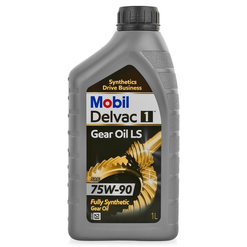 Mobil Delvac 1 Gear Oil LS 75W90 Синтетическое трансмиссионное масло