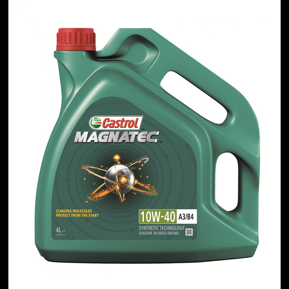 Castrol Magnatec 10W40 A3/B4 Полусинтетическое моторное масло