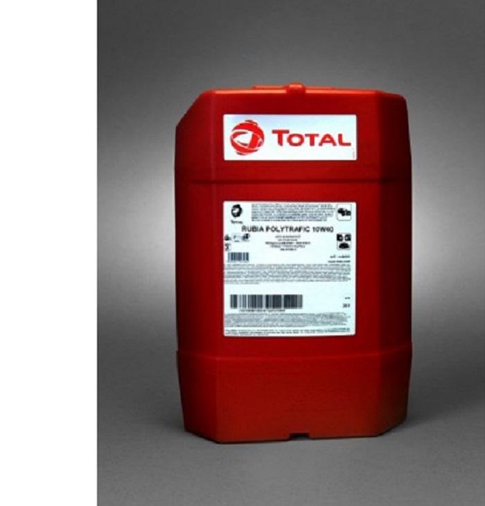 Total Rubia Polytrafic 10W-40 - Полусинтетическое моторное масло