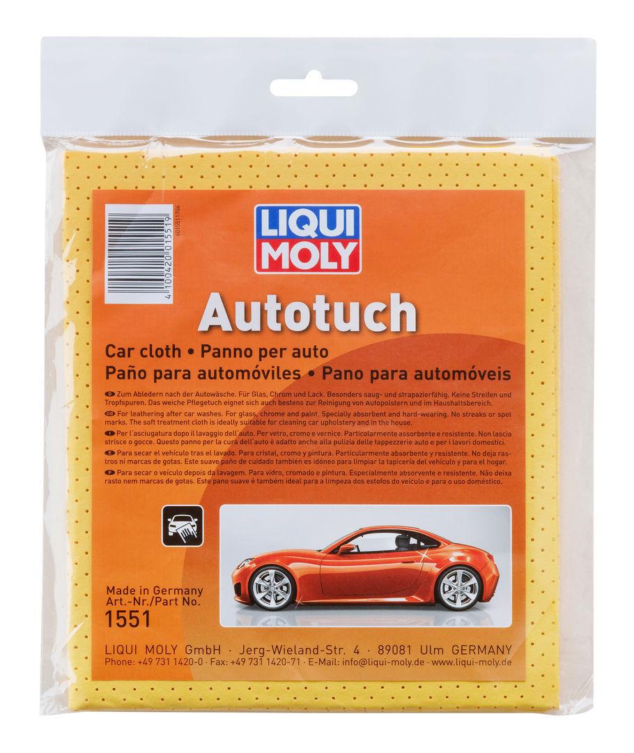 Liqui Moly Auto Tuch  Замшевый платок для впитывания влаги после мытья автомобиля и стекол