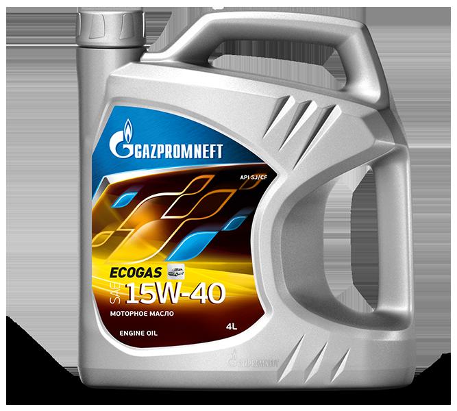 Gazpromneft Ecogas 15W40 Минеральное моторное масло