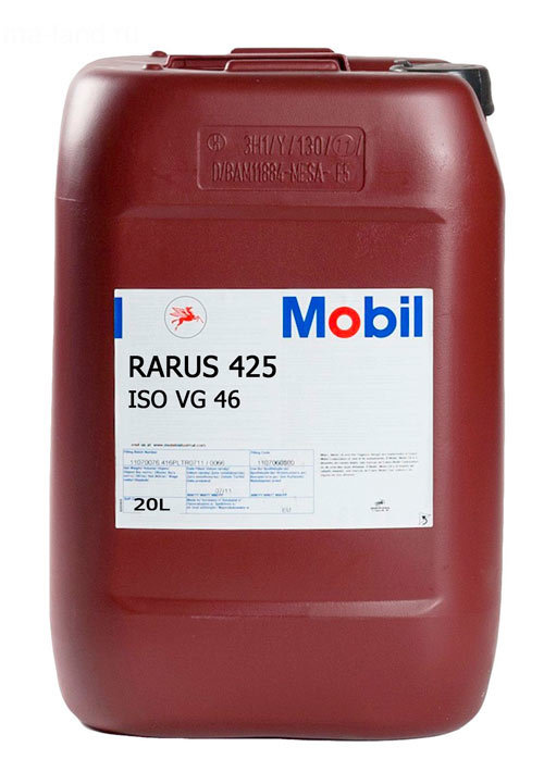 Mobil Rarus 425 (20л) - Минеральное компрессорное масло