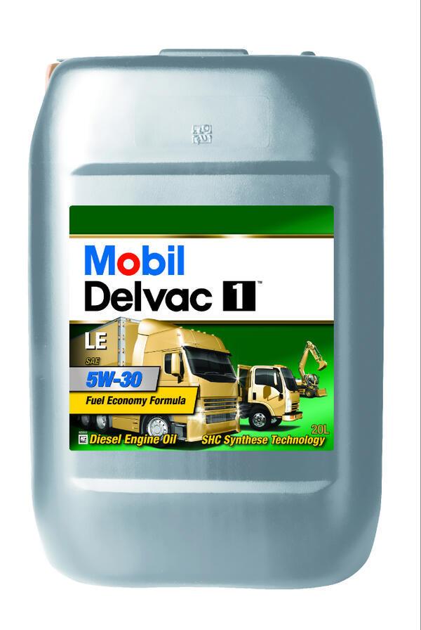 Mobil Delvac 1 LE 5W30 Cинтетическое моторное масло для грузовиков