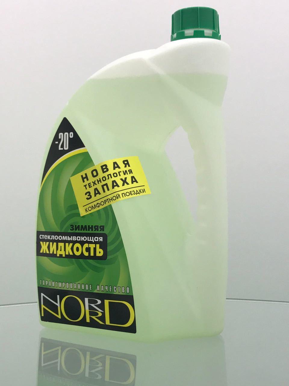 Nord (-20С) - Зимняя жидкость незамерзающая (4л) для лобового стекла автомобиля