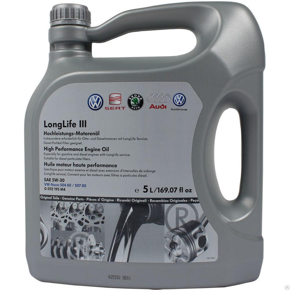 VAG Longlife III 5W30 Синтетическое моторное масло