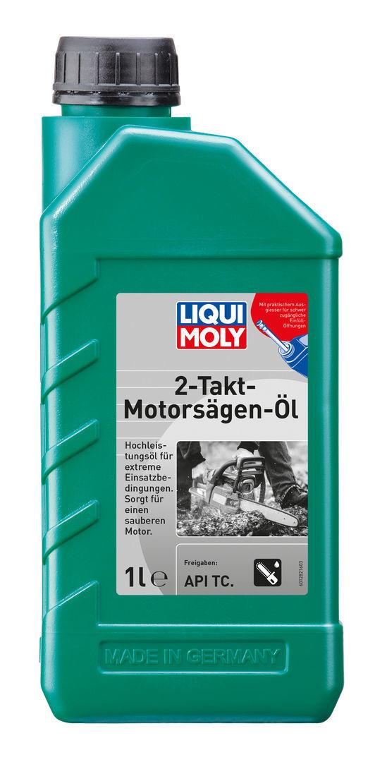 Liqui Moly 2 Takt Motorsagen Oil Минеральное моторное масло для 2 тактных бензопил и газонокосилок