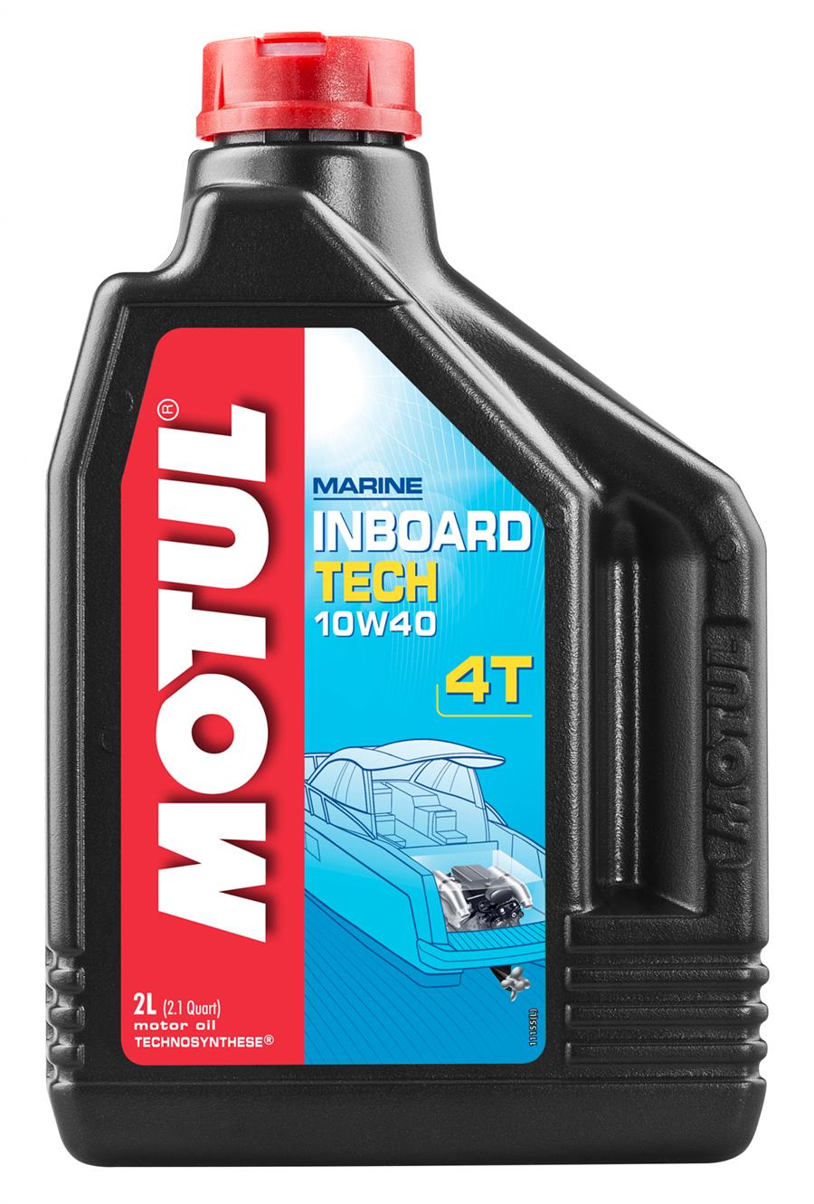 Motul Inboard Tech 4T 10W40 Масло для лодочных моторов