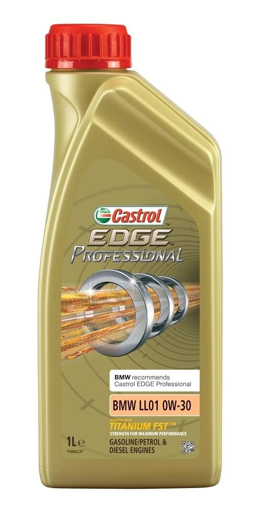 Castrol Edge Professional 0W30 LL01 Синтетическое моторное масло для BMW