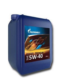 Газпромнефть Diesel Premium 5W40 Полусинтетическое моторное масло