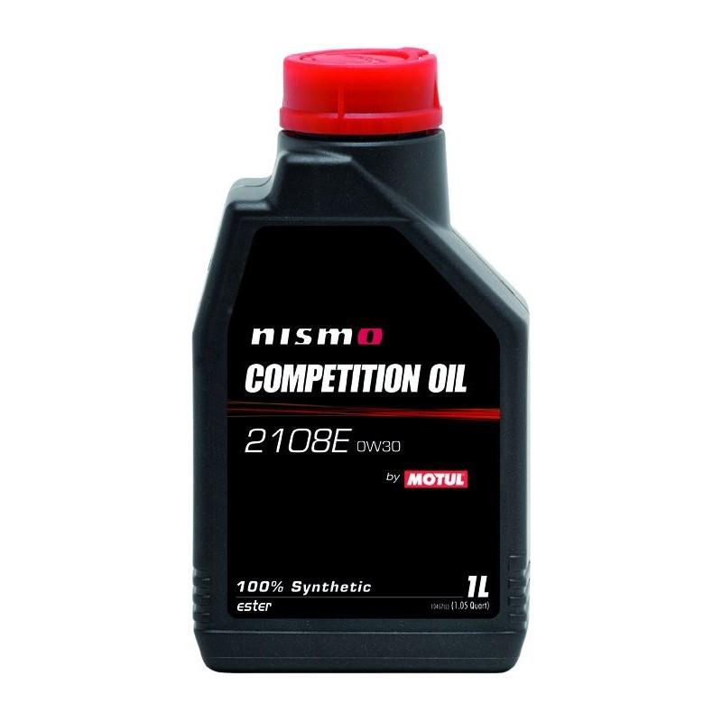 Motul Nismo Comp OIL 2108E 0W-30 -Синтетическое моторное масло  для атмосферных двигателей NISSAN