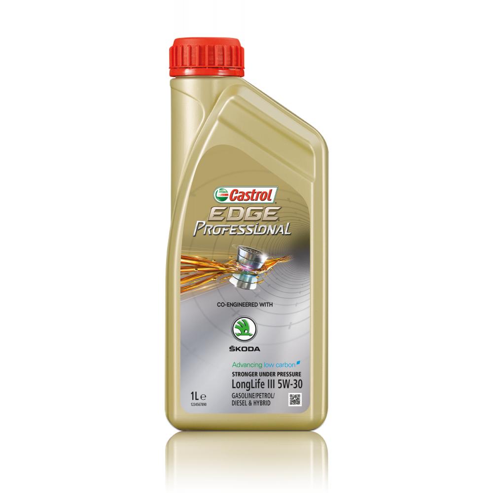 Castrol EDGE Professional Longlife III 5W30 Синтетическое моторное масло для Skoda