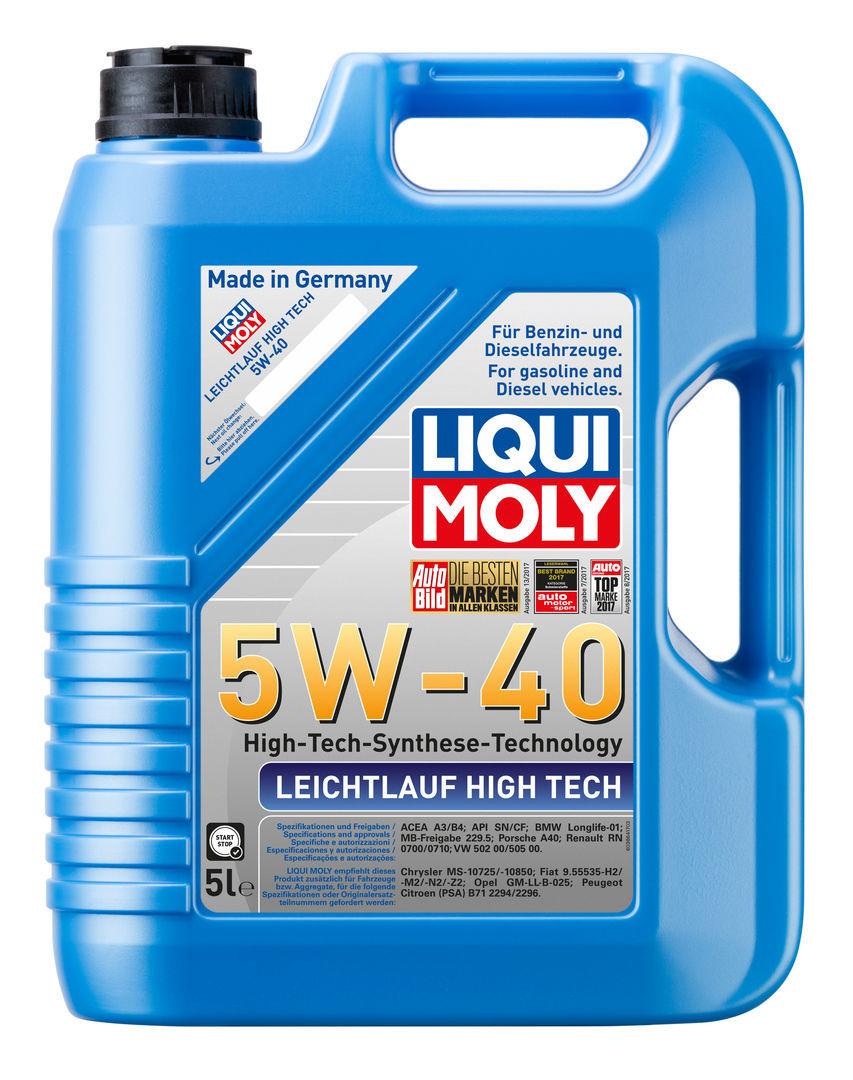 Liqui Moly Leichtlauf High Tech 5W40 НС-синтетическое моторное масло (8029)