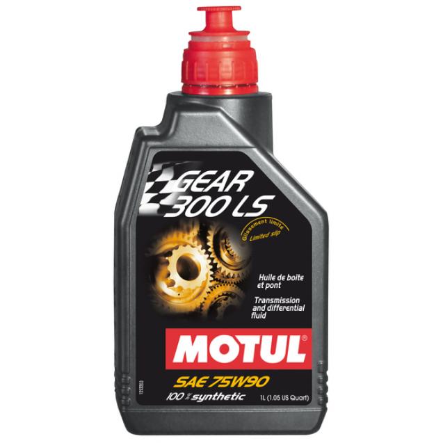 Motul Gear 300 LS 75W90 Синтетическое трансмиссионное масло