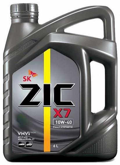 Zic X7 LS 10W40 Синтетическое моторное масло