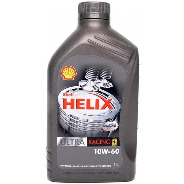 Shell Helix Ultra Racing 10W60 синтетическое моторное масло для гоночных моторов