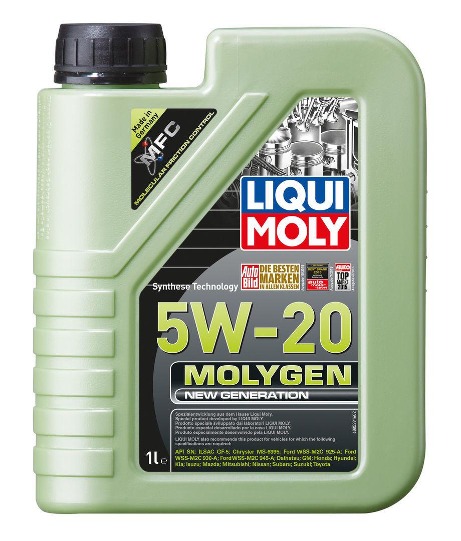 Liqui Moly Molygen New Generation 5W-20 - НС-синтетическое моторное масло