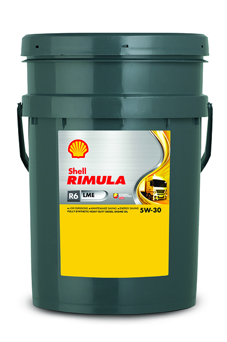 Shell Rimula R6 LME 5W30 Синтетическое дизельное моторное масло