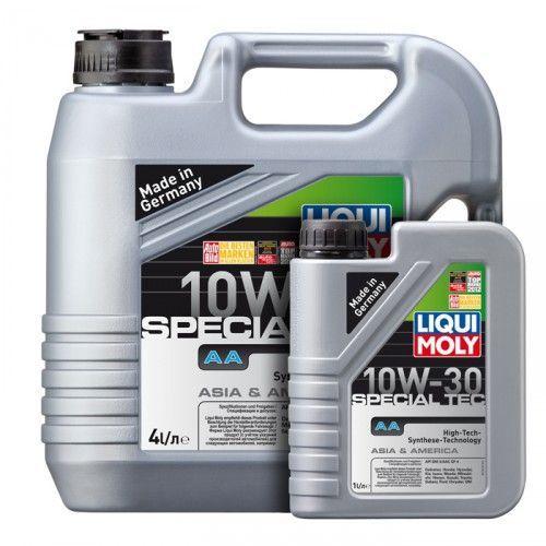 Liqui Moly Special Tec AA Diesel 10W30 НС-синтетическое дизельное моторное масло (АКЦИЯ 1л в ПОДАРОК)